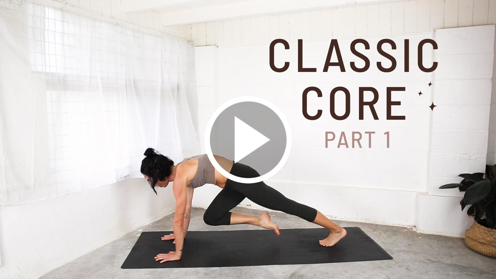 Classic Core Workout Yoga Video