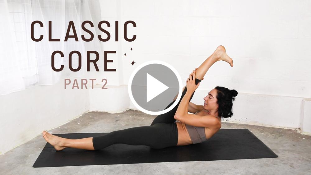 Classic Core Yoga Workout Video Part 2